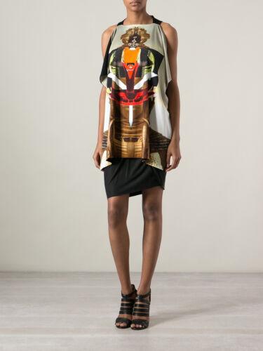 Size Tunica Warrior Givenchy Robot Top Drape Xs Raceback 7g7YTaf