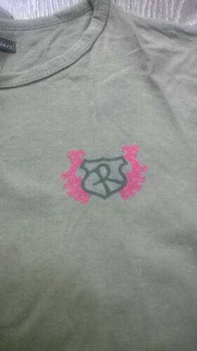 Filles à Manches Longues T Shirt Top équitation de saut d/'obstacles équipe équestre Rockfish