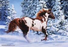 ANATOLIAN JIGSAW PUZZLE SILENT THUNDER CARLA D'AGUANNO 500 PCS #3551 HORSES