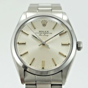 ROLEX-AIR-KING-5500-CASE-34-MM-WITH-PAPER-YEAR-1982