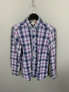 TED-BAKER-Shirt-Size-3-Medium-Check-Great-Condition-Men-s