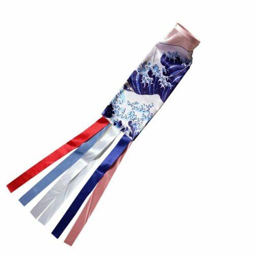 70 cm patriotique Windsock Streamer Drapeau Festivals Caravane Camping Tissu Polyester