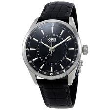 Oris Artix Pointer Moon Black Dial Mens Watch 761-7691-4054LS