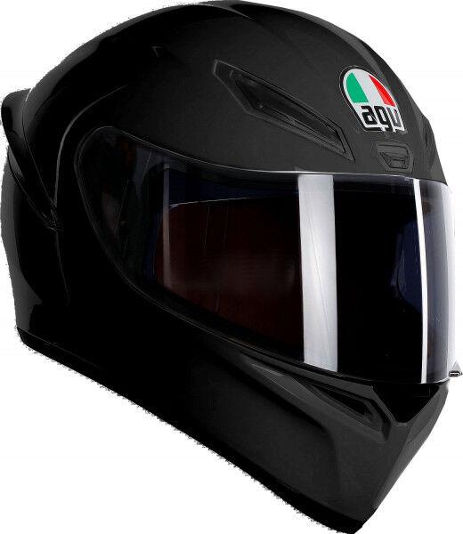 Casco Agv K1 Nero Black Matt Mono DA Moto Taglia L 59 60 Opaco Offerta Integrale