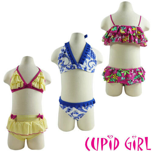 Colours and Sizes Girls CUPID GIRL Bikini Assorted Styles