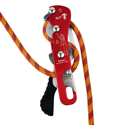NewDoar Climbing Stop Descender Rappelling Belay for Ropes 9-12mm The Novices for Rescue /& Arborist CE Certification