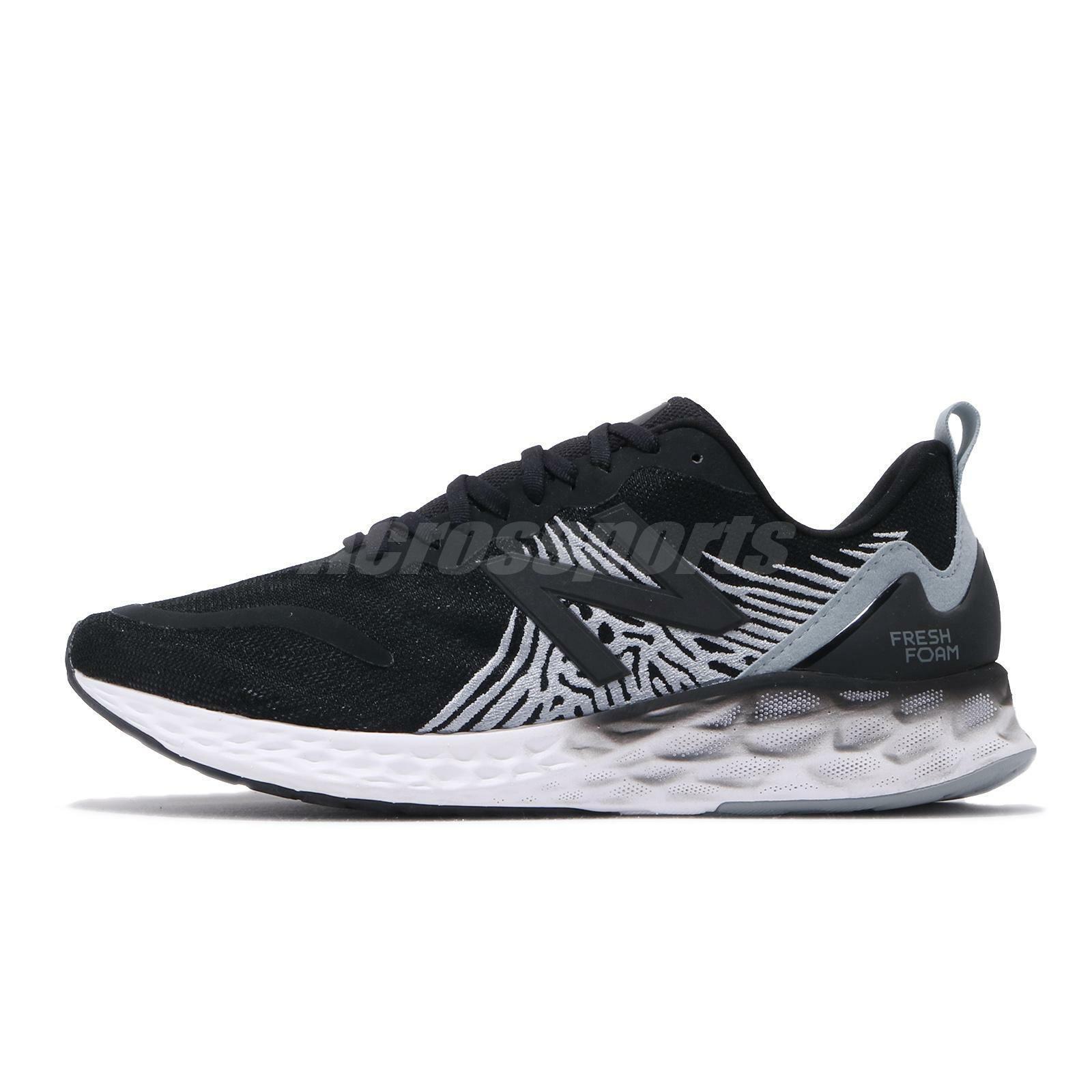 New Balance Fresh Foam X Tempo Wide Black Grey White Men Running Shoe MTMPOBK 2E