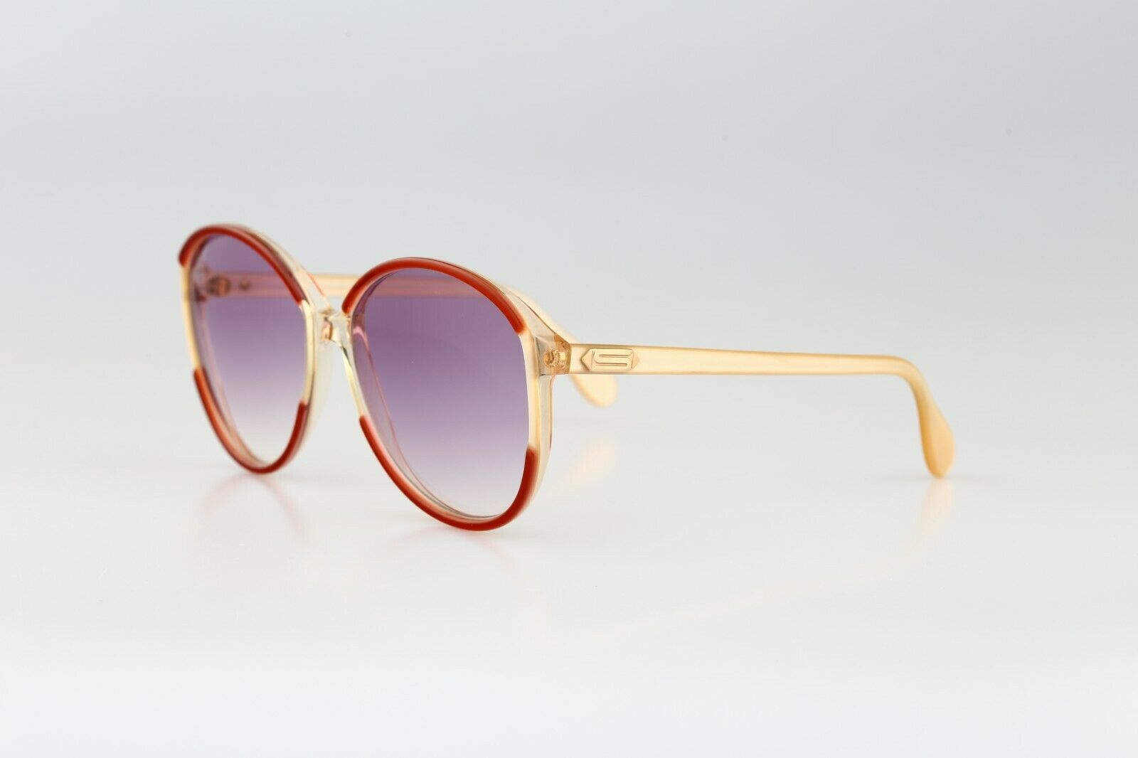 Silhouette M 1126 20 C 2713, Vintage 70s red & cl… - image 5