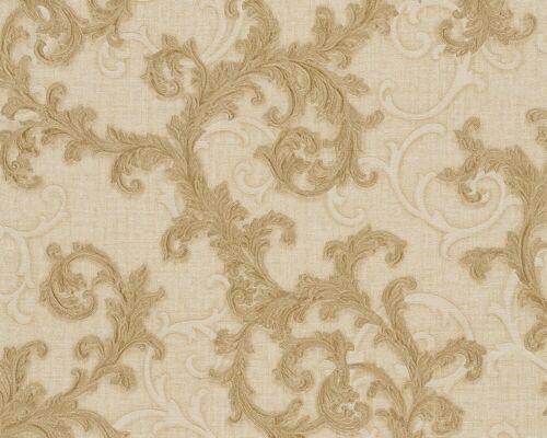 9,65€//1qm Tapete Vlies Barock gold creme AS Creation Versace 96231-2