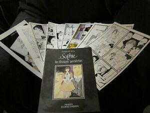 gilbert garnon lot de planches originales bandes dessinées erotiques