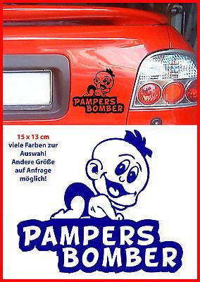 Pambers Bomber 80 cm Aufkleber Sticker ohne Hintergrund