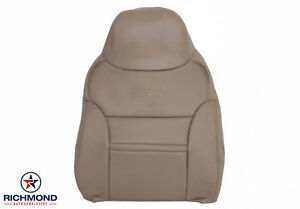 2000 2001 Ford Excursion Limited Top Replacement Lean Back Seat Cover Gray