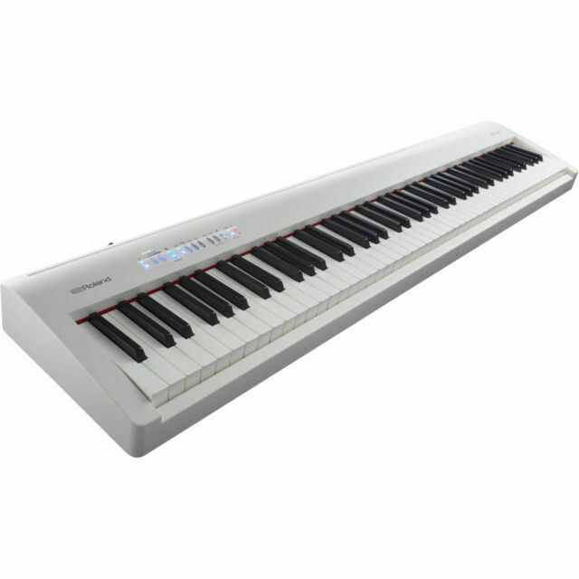Roland Fp30wh 88 Key Digial Piano White For Sale Online Ebay