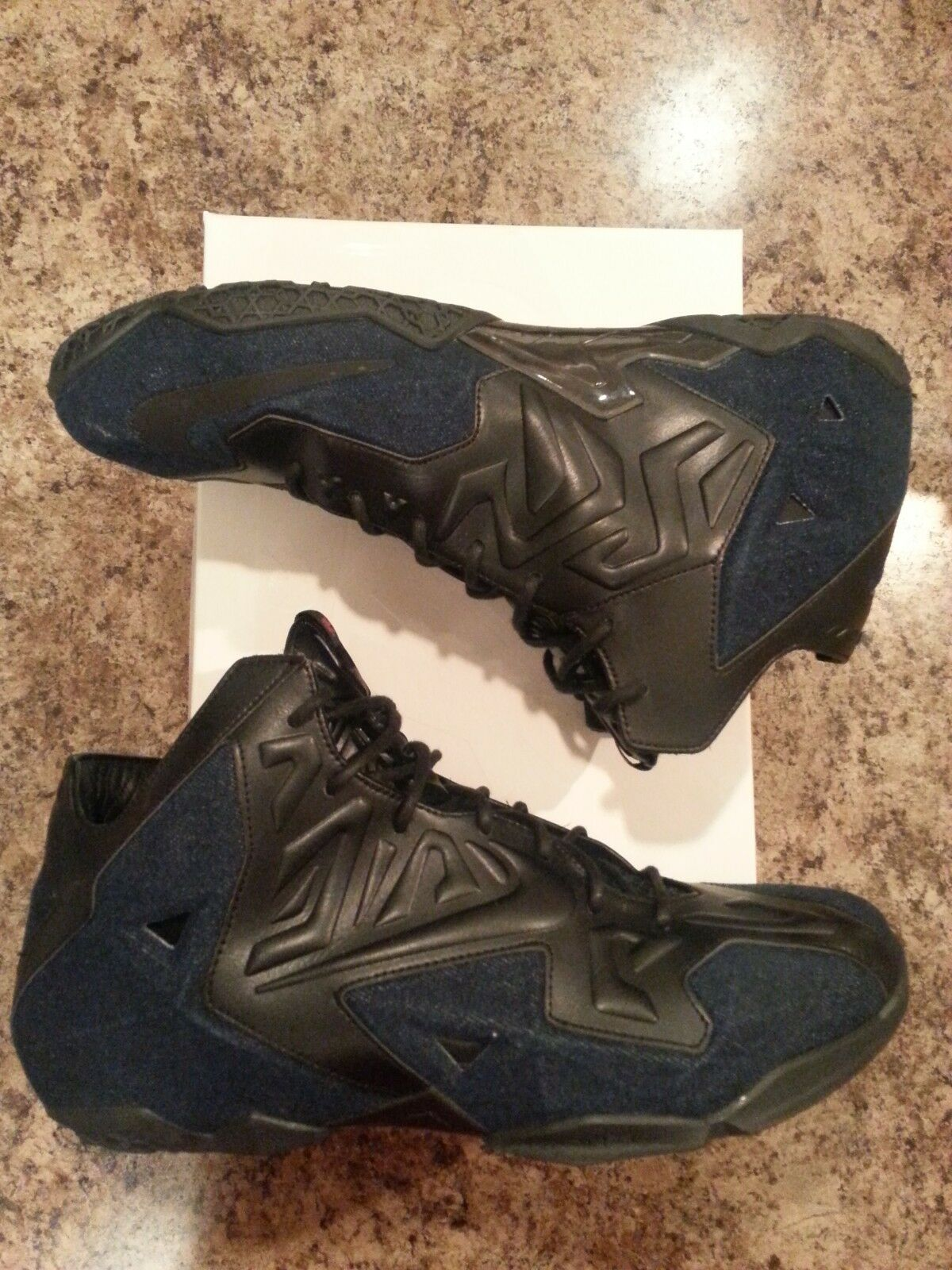 Nike LeBron 11 XI Denim EXT QS Comfortable The latest discount shoes for men and women