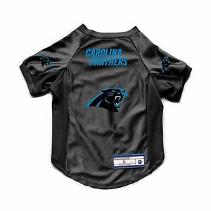 sale retailer 3d6f3 e0d98 Details about NEW CAROLINA PANTHERS DOG CAT DELUXE STRETCH JERSEY