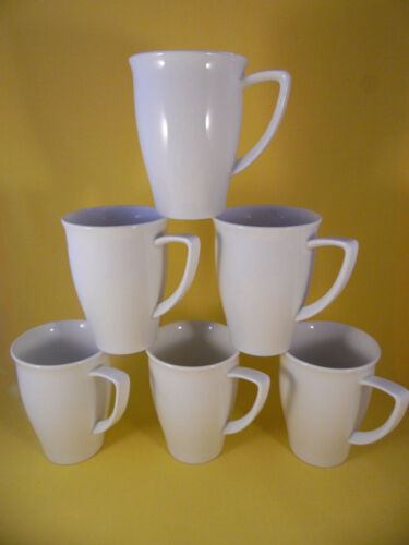 Bauscher Raffinesse 6 x Becher mit Henkel creme Kaffeebecher Kaffeetopf  NEU