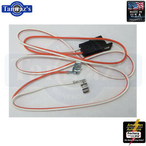 1968 Camaro Console Wiring Harness With Manual ...