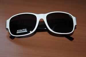 bcde5f7857f3ec Lunette de soleil KINTO - 9902KS 931 - Blanc et Noir   eBay