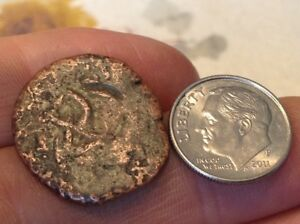 RESTRIKE 1600's RX Spanish Pirate Coin 1600's Countermark front and back NW102