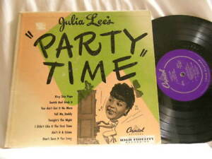 JULIA-LEE-Party-Time-Red-Norvo-Benny-Carter-Vic-Dickenson-Capitol-10-034-LP