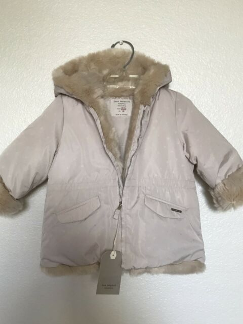 NEW Zara Baby Girl Outwear Collection Puffer Jacket Faux ...