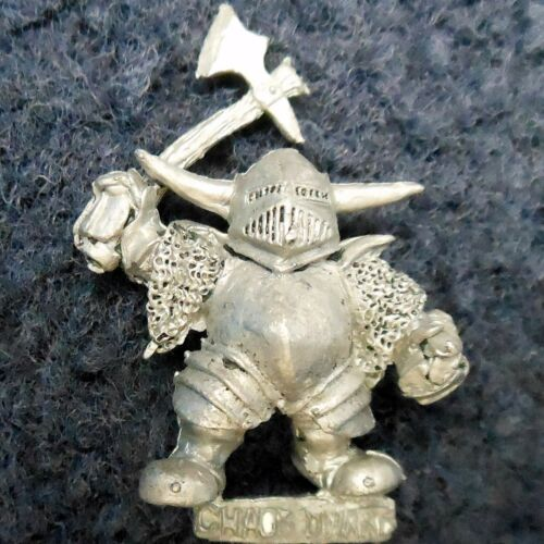 1985 Chaos Dwarf Renegades BC6 Napper Grundrin Citadel Citadel Warhammer Army GW