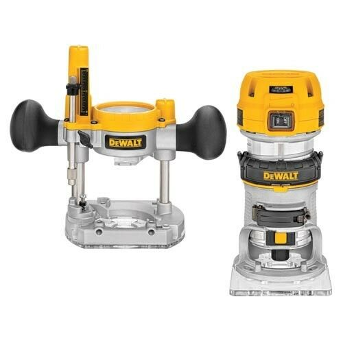 DeWALT DWP611PK 1.25 horsepower HP Compact Router Kit
