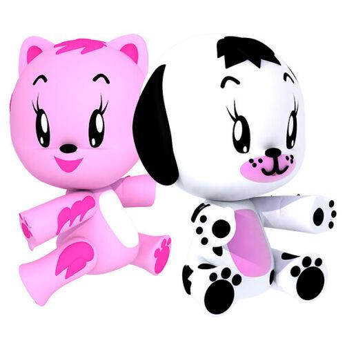 Kuki Dog e Kuki Cat Famosa Cucciolo Interattivo Gioca e Coccola 2 modelli ass.