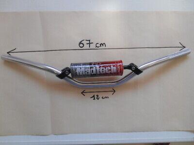 Alamor 7//8Inch 22 mm En Aluminium Guidon Pour Dirt Pit Vtt Quad Motocross Enduro-Noir