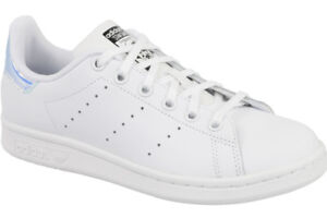 new product 7da74 75683 adidas Originals Stan Smith J White Iridescent Hologram Kids Junior ...