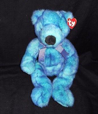 """Spielzeug 15 """" Vintage 1999 Ty Bluebeary Blau Teddybär Plüschtier Spielzeug Classic Tag KöStlich Im Geschmack"""