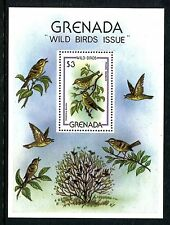 Grenada 989, MNH, Birds Prairie Warbler 1980. x20196