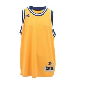 reputable site 7f1ca 102da Details about Golden State Warriors NBA Adidas Kids Youth Size Blank  Swingman Jersey New Tags