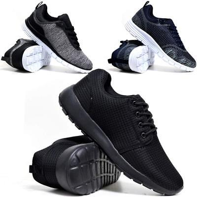 Mens-Boys Running Trainers Casual Lace Gym Walking Sports Shoes  UK STOCK