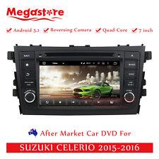 "7"" Car DVD GPS Navigation For SUZUKI CELERIO 2015-2017 Quad Core Android 5.1"