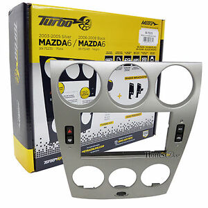 Mazda 6 car stereo isodouble2d din radio install dash kit 99 image is loading mazda 6 car stereo iso double 2 d sciox Images