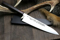 Yoshihiro Inox Aus 10 Stainless Ice Hardened Wa Gyuto Chef Knife Ryu Series