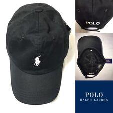 88e2e7fae04 Brand New With Tag Men s RALPH LAUREN Polo Small Pony Baseball Cap Black