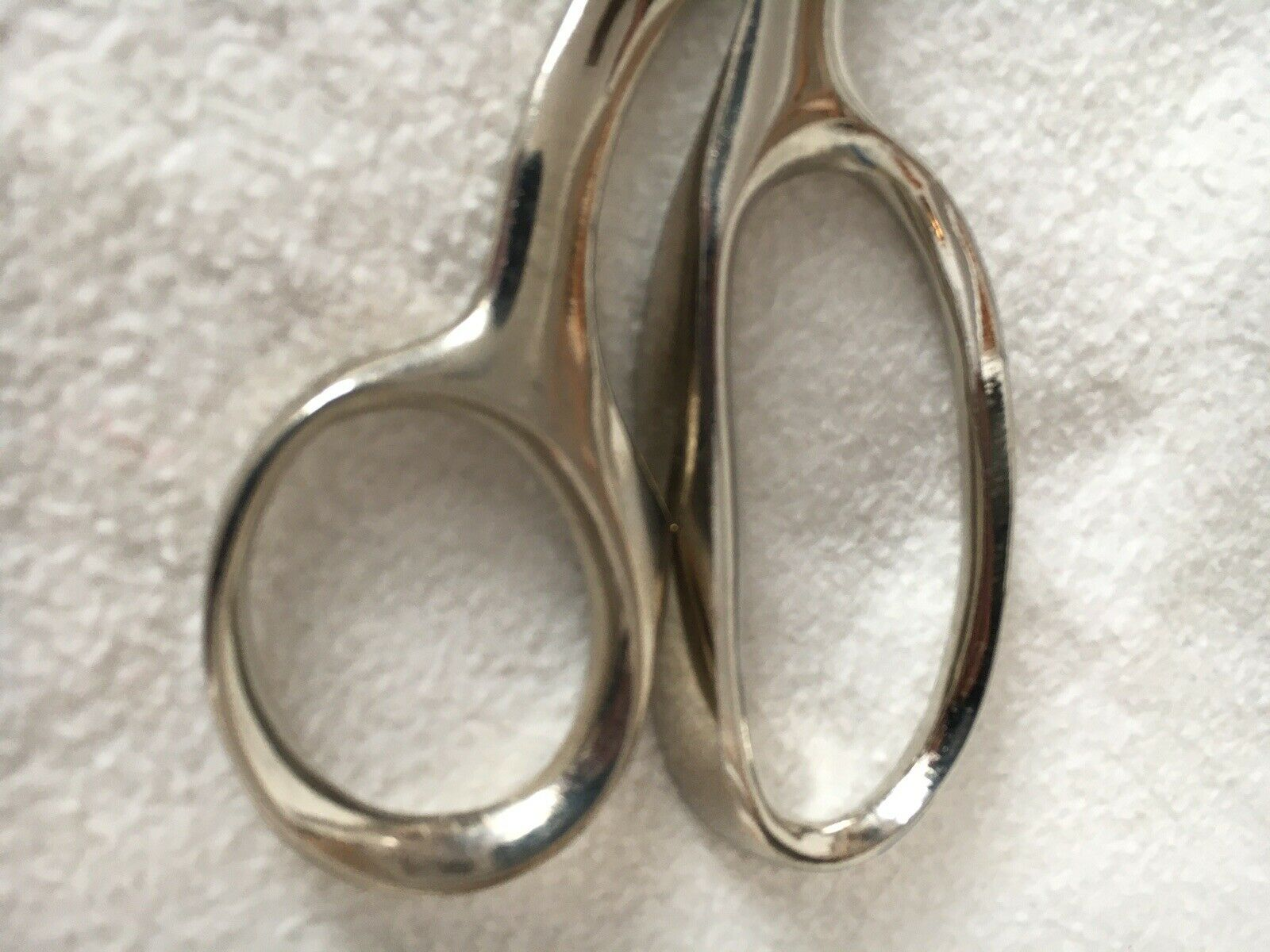 Dovo Tailor Shears 9 Nickel Plated w Black Leather Sheath Free US Shipping!!!