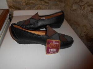Chaussures femme cuir LUXAT confort p. 40 neuves