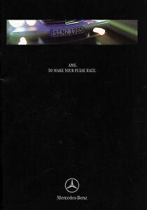 Mercedes-AMG-Prospekt-1999-9-99-GB-brochure-C-43-E-55-ML-55-CLK-55-prospectus