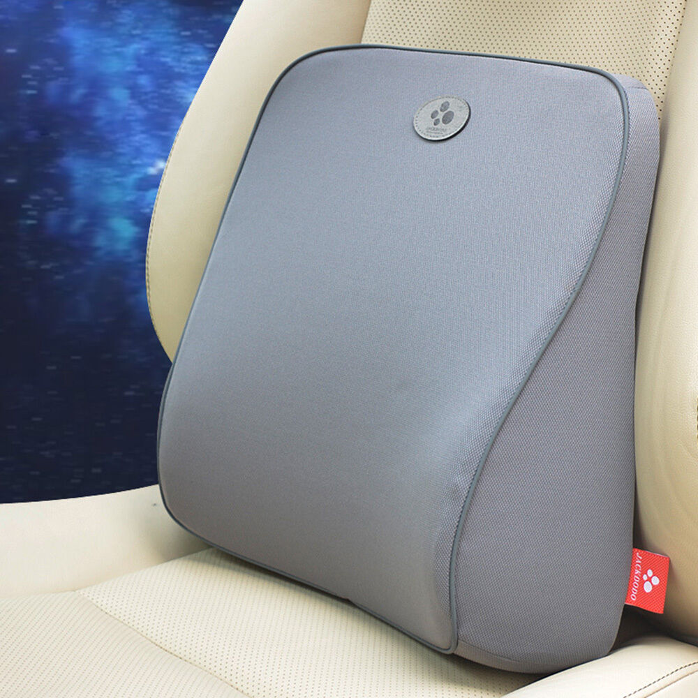 memory foam lumbar back support cushion pillow car office seat chair comfortable ebay. Black Bedroom Furniture Sets. Home Design Ideas