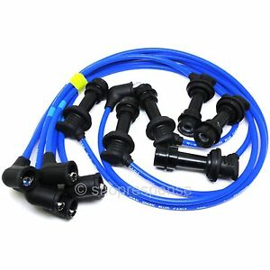NGK-Spark-Plug-Wires-Cables-Fits-86-92-Toyota-Supra-Base-MA70-7M-GE-RC-TX07