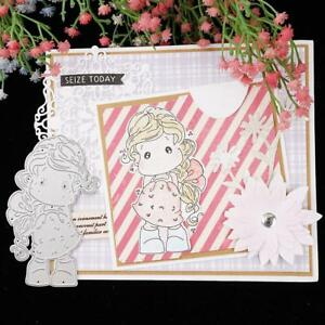 Lovely-Girl-Cutting-Dies-Stencil-DIY-Scrapbook-Album-Card-Embossing-Template