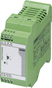 Phoenix contact Mini Power suministro eléctrico mini-ps-100-240ac//10-15dc//2 fuente de alimentación