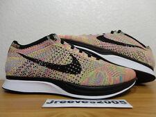 75a8b9f65562 DS Nike Flyknit Racer MULTICOLOR Sz 9.5 100% Authentic Yeezy 526628 004  Rainbow