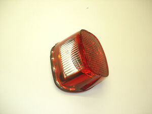 1-OME-Harley-Davidson-Rear-Taillight-Brake-Light-6837003-In-Good-Shape-A1-LOOK