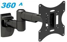 "10-42"" LCD LED TV WALL MOUNT BRACKET TILT SWIVEL HD 26 27 30 32 21 19 40 28 24"""