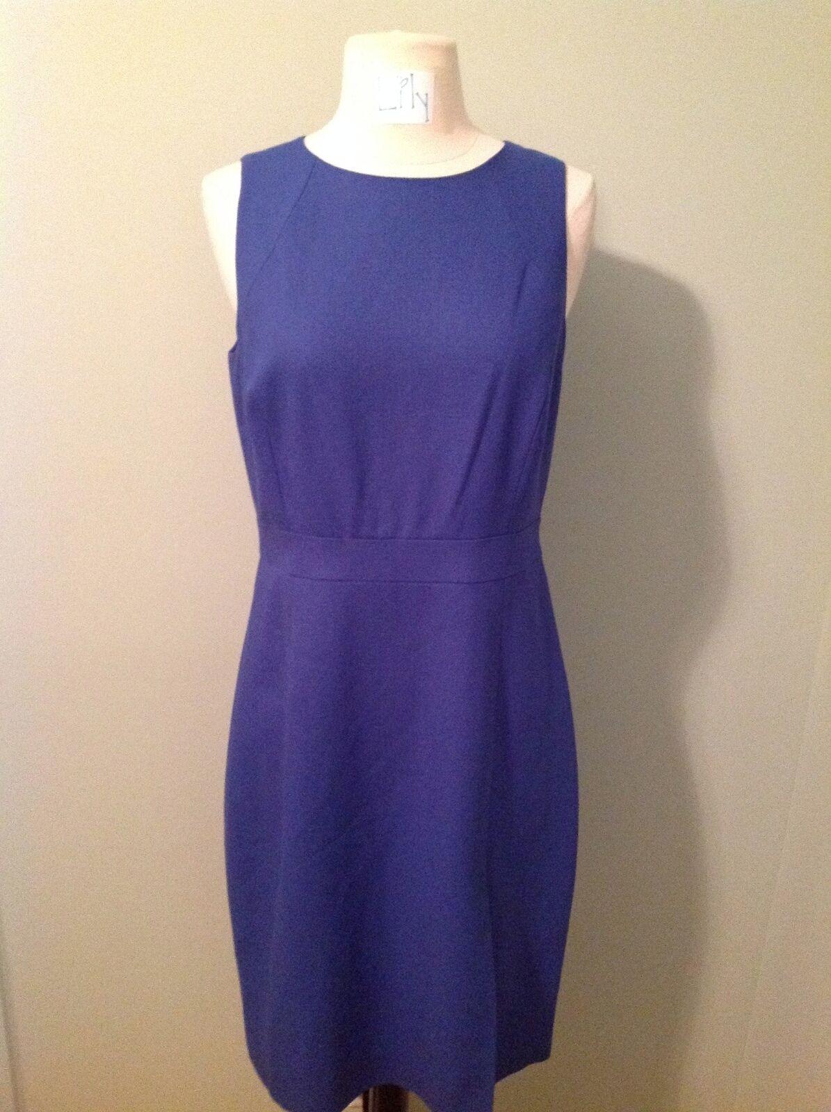 JCREW GWEN DRESS - Größe 10 - FESTIVAL Blau