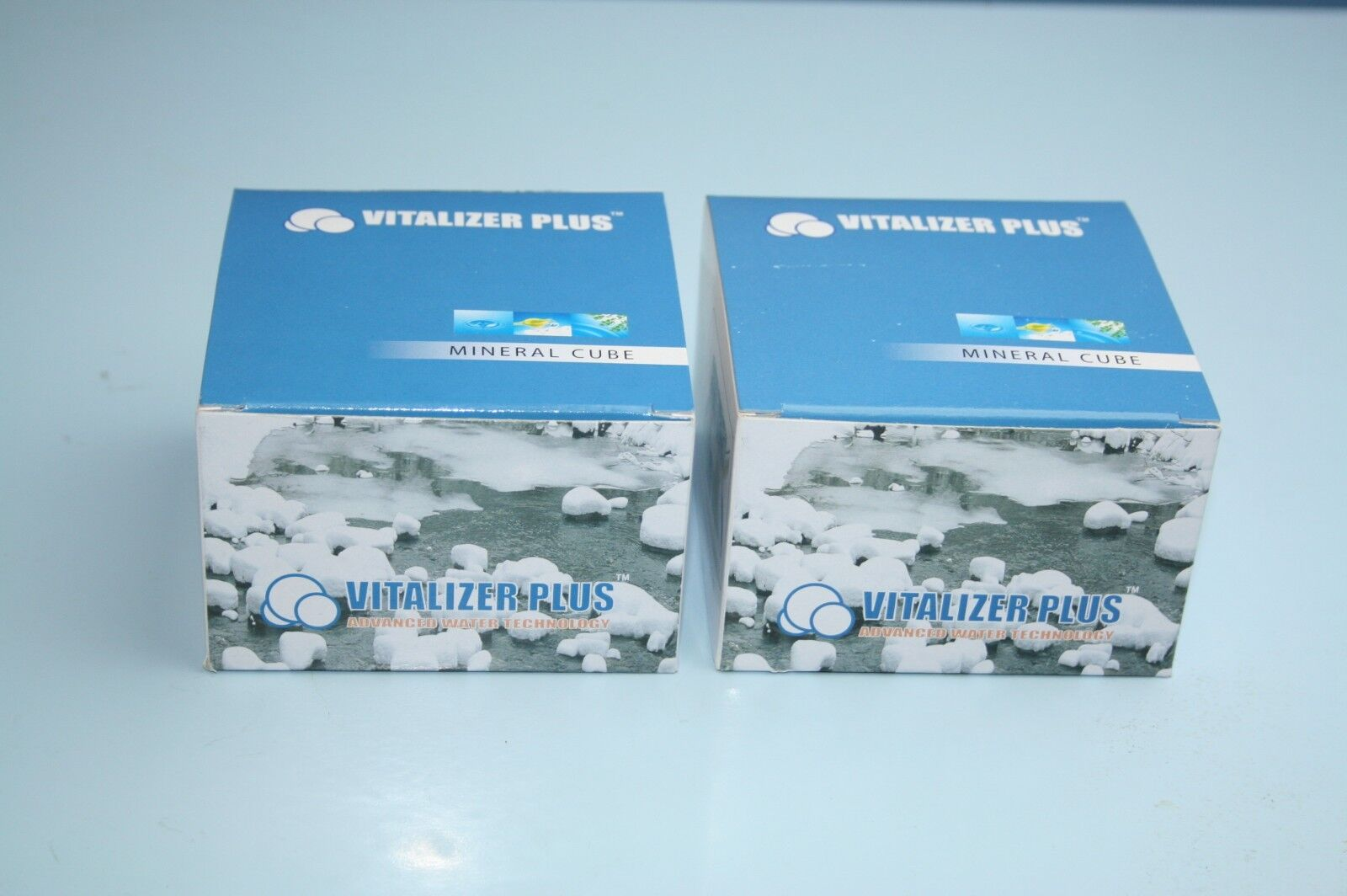 Vitalizer Plus (2) Mineral Cube With  BIG DISCOUNT OFFER ACCEPT
